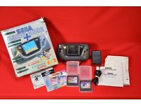 Sega Game Gear with Sonic 1 & Sonic 2 £120