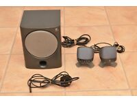 Logitech X-220 speaker system (Subwoofer and 2 Speakers)