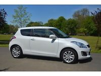 2015 SUZUKI SWIFT SZ4 WHITE 1.2 petrol HPI clear