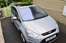*REDUCED* 2010 Ford S-MAX TITANIUM 2.0 - 5/7 seater with glass roof, leather interior, high spec FSH