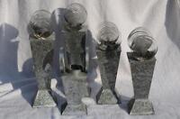 Aluminum Candle Holders
