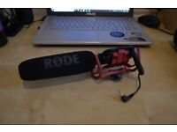 Rode camera and video VideoMic with Rycote Lyre mounting system