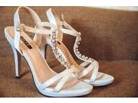 Ivory Bridal Shoes size 40