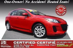 2013 Mazda Mazda3 GS-SKY Certified! One-Owner! No Accident! Heat