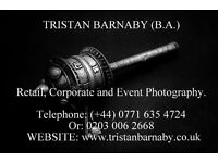 PROFESSIONAL freelance photographer based in london (food, retail, corporate and events).