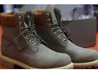 Timberland Premium inche boots (size 9/9.5) BRAND NEW w TAGS BNWT (Lovely Olive colour) RRP 170.00
