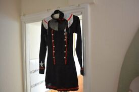 SELECTION OF ***ALL NEW** BLACK COW GIRL DRESS, COOL HAT & G STRING