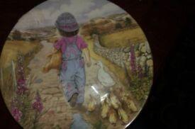 Royal Worcester Collectors Plate Thursdays Child