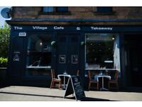 CAFÉ LEASEHOLD AND BUSINESS FOR SALE