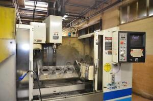 Fadal VMC 4020 HT CNC Vertical Machining Center with 4th Axis