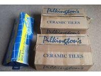 Pilkington Tiles 2 boxes inc. Wall & Floor Tile Cutter