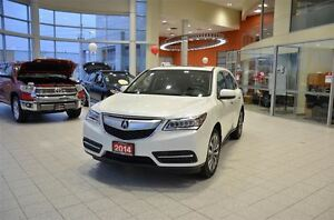 2014 Acura MDX Navigation Package, Leather, Sunroof, 7 Passenger
