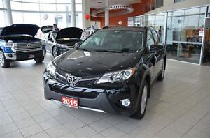 2015 Toyota RAV4 Limited AWD- Navigation, leather, Memory Seats