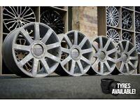 "*Refurbished* Genuine 18"" Audi TT MK1 Alloy Wheels 5x100 8N0601025S Ronal VW/Skoda/Seat"