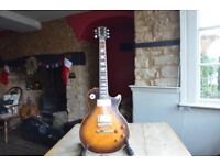 1977 Gibson Les Paul Deluxe, Tobacco Sunburst, owned from new.