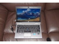 HP 2570p laptop, 128GB SSD, 1TB HDD, 16GB RAM, i5 2.5GHz, win 10 Pro, 3G & MORE