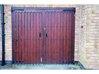 Hard Wood Garage Door