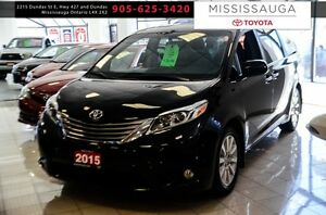 2015 Toyota Sienna 5dr XLE 7-Pass AWD