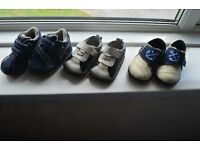 Baby boy shoes boots size 3 and 3.5