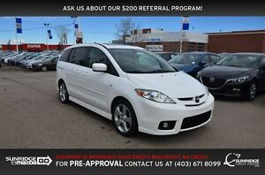 2007 Mazda MAZDA5 GS, POWER PACKAGE, CRUISE CONTROL, MOONROOF