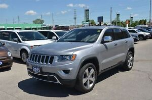 2015 Jeep Grand Cherokee Limited - 4x4  Leather  Parksense  Sunr