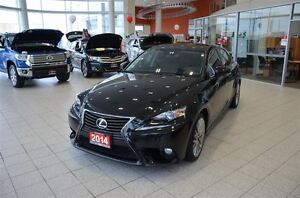 2014 Lexus IS 250 AWD Luxary Package, Ventilated Seats, Navigati