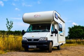 MODEST MOTORHOME hire (2-6 berth). Choose according to YOUR BUDGET!