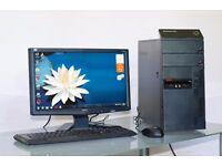 Lenovo -Desktop PC- in excellent condition!3 month Warranty