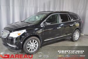 2017 BUICK ENCLAVE TRANSMISSION INTÉGRALE AWD - CUIR - TOIT OUVR