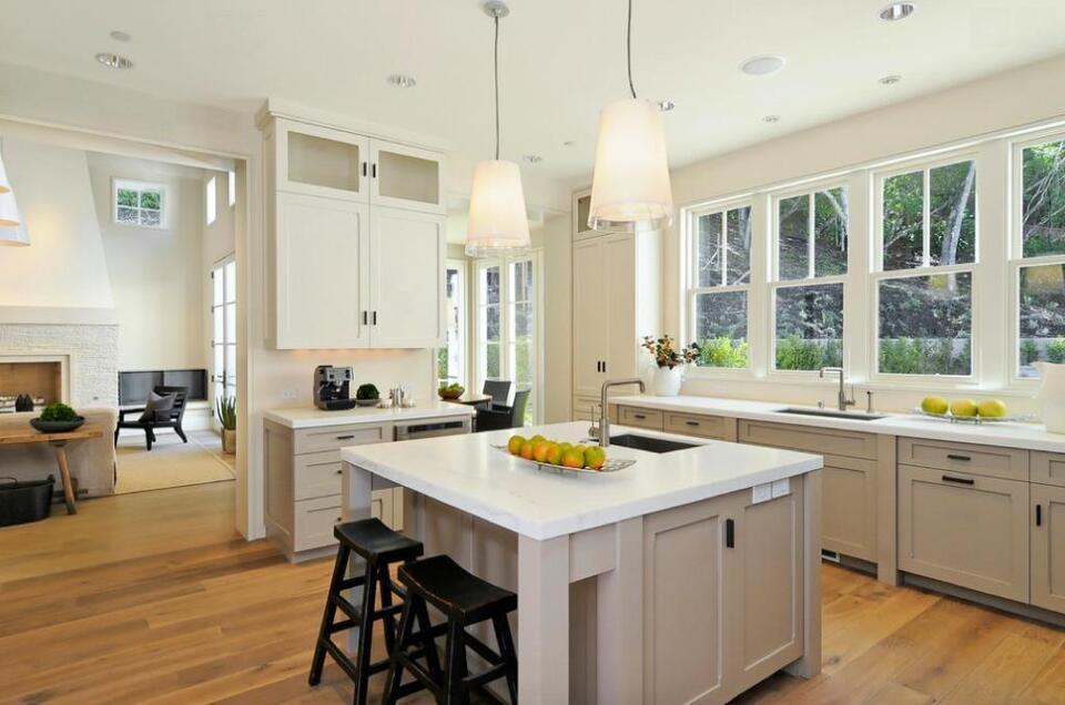 Cuisine sur mesure comptoir quartz samsung cambria cabinets countertops greater montr al - Comptoir cuisine montreal ...