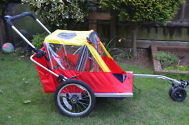 Two Child Bicycle Trailer