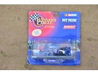 NASCAR Diecast Rusty Wallace Pit Row scene