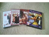 DVD Mixed lot all unopened,