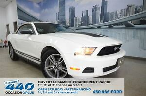 2010 Ford Mustang V6 | CONVERTIBLE, CUIR, SHAKER AUDIO