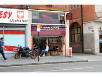 W3: A1 Shop ground floor in Acton High Street ideal for cafe, office, retail shop