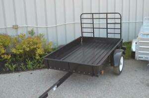 New Utility Trailers - Steel Mighty Multi 4x6, or 5x7 Utility Trailers in Stock, Ship Anywhere!