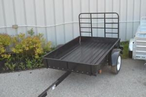 New Utility Trailers - Steel Mighty Multi 4x6, Steel or Galvanized 5x7 Utility Trailers in Stock, Ship Anywhere!