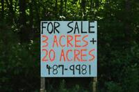 Gorgeous 20-acre land in Hammond