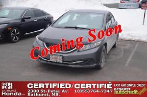 2013 Honda Civic Sedan LX Certified! Heated Seats! Bluetooth!