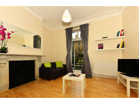 106E-WEST KENSINGTON-SPACIOUS AND MODERN ONE BEDROOM FLAT WITH PATIO, FURNISHED,BILLS INCLUDED-£395W