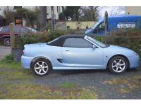 2002 MG TF SPORTS CAR,