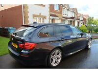 BMW 5 SERIES DIESEL TOURING 520d M SPORT 5dr STEP AUTO.BEST PRICED MSPORT ON GUMTREE OR AUTOTRADER