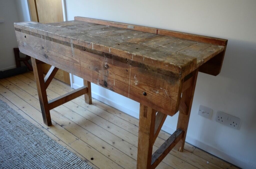 Vintage Work Bench   Joiners Woodworking
