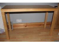 ikea lack birch coloured console table