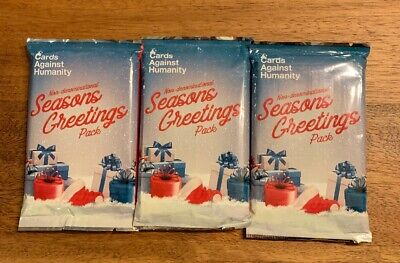 Cards Against Humanity Seasons Greeting's Non-Denominational Expansion Pack 2017 ()