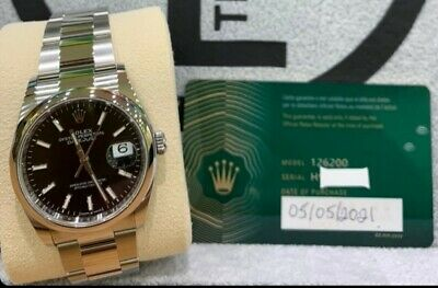 Rolex Datejust Ref. 126200 36mm - 2021 With Box & Papers - 5 Yr Rolex Warranty