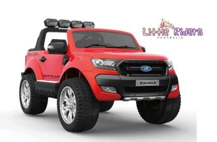 4x4 24V Licensed Ford Ranger Ride on Car for kids remote control