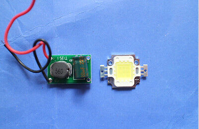 10w High Power Led Chip Warmcool White Constant Current Led Driver