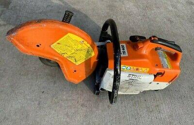 Pre-owned Stihl Ts400 14 64cc Concrete Cut Off Saw Runs Starts Easy