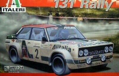 1/24Italeri - Fiat Abarth 131 Rally - Plastic Model Kit
